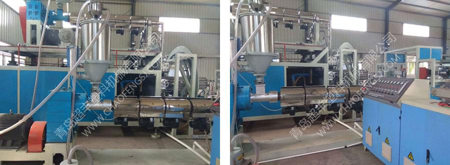 克拉管生产线(HDPE大口径中空壁缠绕管设备)